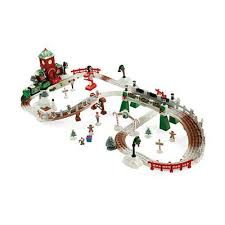 fisher price train table fisher price geotrax christmas in toytown rc train set fisher