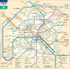 map of the underground in big map of underground subway metro stations new zone