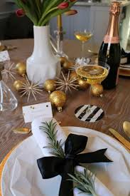 New Years Table Decorations Ideas by 40 New Year U0027s Eve Decorations U2013 Easy And Fast Table Decoration