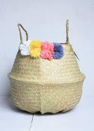 fair trade home decor basket home decor simple dark brown oval maize baskets with
