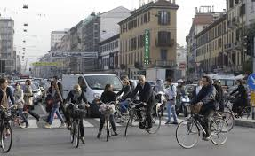 Fast City Slow Commute Center by Milan Commuters Could Get Paid To Bike To Work U2013 Next City