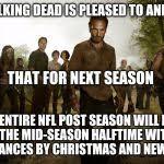 Walking Dead Birthday Meme - walking dead birthday meme generator imgflip