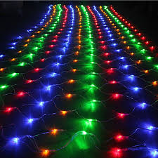8 function multi color led christmas lights 3m 2m 200 led net mesh fairy string light christmas wedding party