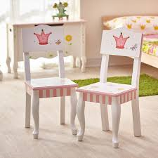 Guidecraft Princess Table And Chairs Fantasy Fields Princess And Frog Kids Desk Chair U0026 Reviews Wayfair