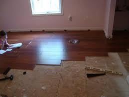 Laminate Flooring With Pad Ends Meet Diy Project Costco39s Harmonics Laminate Flooring