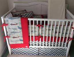 Red Boy Crib Bedding by Airplane Crib Comforter Creative Ideas Of Baby Cribs