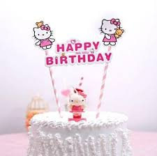 happy birthday cake topper 2pcs special price hello hap end 8 18 2019 6 08 pm