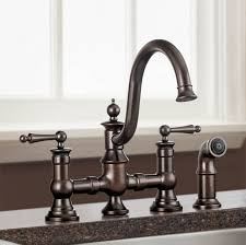 Bridge Faucets For Kitchen by Bathroom Appealing Kohler Faucets With Up Handle For Modern