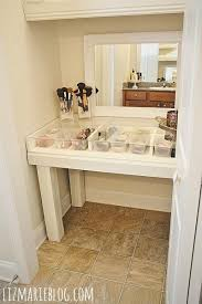 Glass Makeup Vanity Table 35 Best Makeup Organization Images On Pinterest Home Ideas