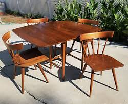 Paul Mccobb Dining Table Mid Century Paul Mccobb Planner Group Dining Set Drop Leaf Table
