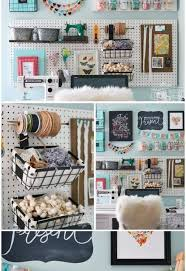 Organize A Craft Room - a pegboard gallery wall for my office craft room hometalk