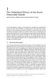 research design thesis example the unfinished history of the social democratic family springer