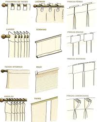 tipos de pregas de cortina job pinterest interiors window