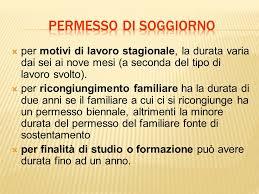 rinnovo permesso di soggiorno per motivi familiari informazioni sull ingresso in italia ppt scaricare