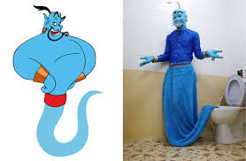Genie Costumes Halloween Cheap Homemade Cosplay Costume Halloween Korean Contact Lens
