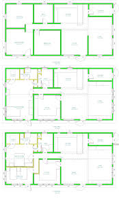 small rectangular house plans 3d modern house layouts home design gombrel home designs