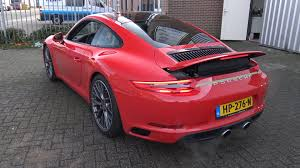 porsche 911 turbo sound 4k 2016 porsche 991 s mk2 3 0l turbo start up revs