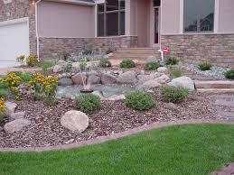 garden design with front yard landscape rock desert ideas waplag