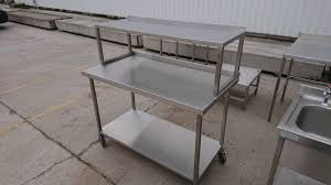 used stainless steel tables for sale secondhand catering equipment heated gantries and chef s passes