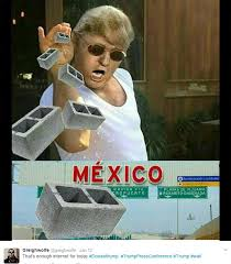 Donald Trump Meme - donald trump mexican wall memes erupt on twitter as leaders continue