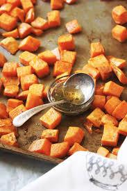 sweet potato thanksgiving dish brown butter sage roasted sweet potatoes