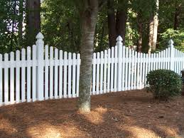 picket fences modern style white picket fence with 6ft vinyl picket 14