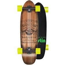 bustin modela bustin modela 26 whisky label wood burn cruiser skateboard complete
