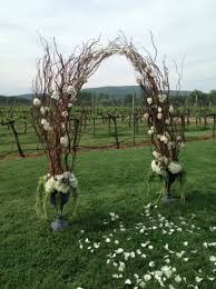 Wedding Arches Made Twigs 170 Best Outdoor Wedding Altar Ideas Images On Pinterest Outdoor