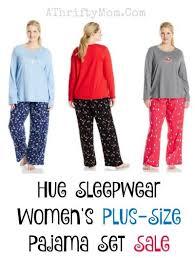 hue sleepwear s plus size pajama set sale a thrifty