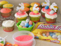 Easter Cupcake Decorations Easy by Easy Easter Cupcakes Flour On My Face