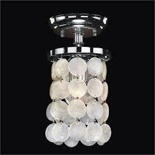 Capiz Shell Light Fixtures Capiz Shell Light Fixture Bellacor