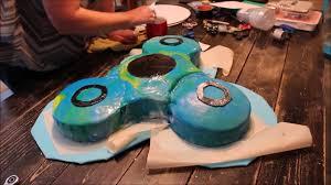 fidget spinner birthday cake youtube