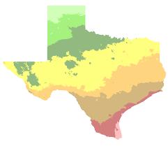 Growing Zone Map Laredo Texas Hardiness Zones
