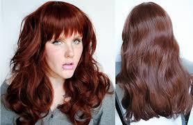 fall hair color trend rich reddish browns medium hair styles