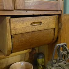 the wildwood flower 1910 napanee early oak hoosier style cabinet