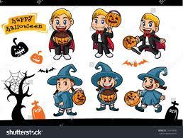 cute halloween vampire clipar clip halloween cute vampire witch night pumpkin stock vector 716418598