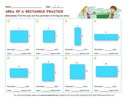 pictures on free area and perimeter worksheets bridal catalog