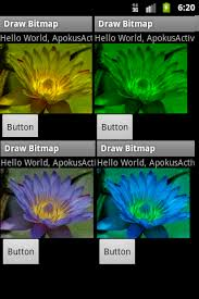 android bitmap hue saturation color colored filtering bitmap image android