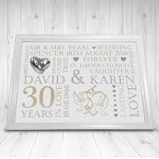 30th wedding anniversary gift ideas 30th wedding anniversary gift new wedding ideas trends