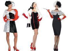 Cruella Vil Halloween Costumes 1 Black Dress 5 Minute Halloween Costumes Cruella