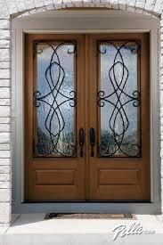Stain For Fiberglass Exterior Doors Pella Architect Series Fiberglass Entry Doors Create Instant