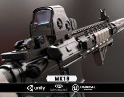 pubg 3d models gun 3d models cgtrader com