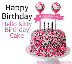 kitty cake u0026 character decorating ideas love