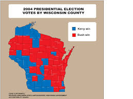 Map Of Wi Wisconsin Voter Turnout Patterns Shift Creating Tough Landscape