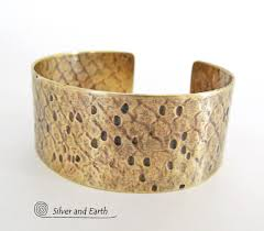 cuff bracelet from images Gold brass cuff bracelet with unique texture egyptian jewelry jpg