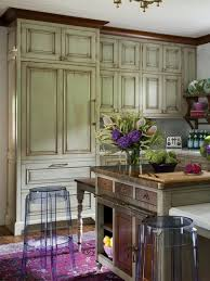 white kitchen with distressed cabinets 5 distressed kitchen cabinets that really bring the charm
