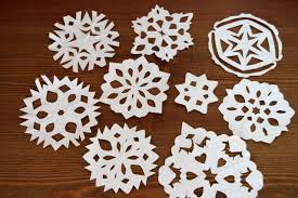 how to make paper snowflakes hgtv