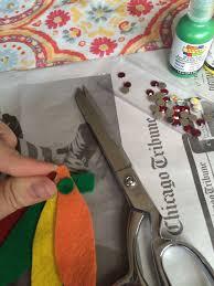diy chicago blackhawks hair clip u2013 the global chameleon