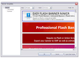 free download template flash flash banner maker screenshots bannker design banner creator