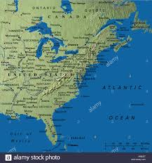 Florida Map Cities West Coast Usa Map Stock Photos West Coast Usa Map Stock Images
